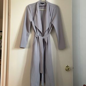 New Look Grey Belted Jacket